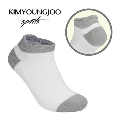 KYJ 로우컷 하이백 더블쿠션 골프양말 남녀 김영주