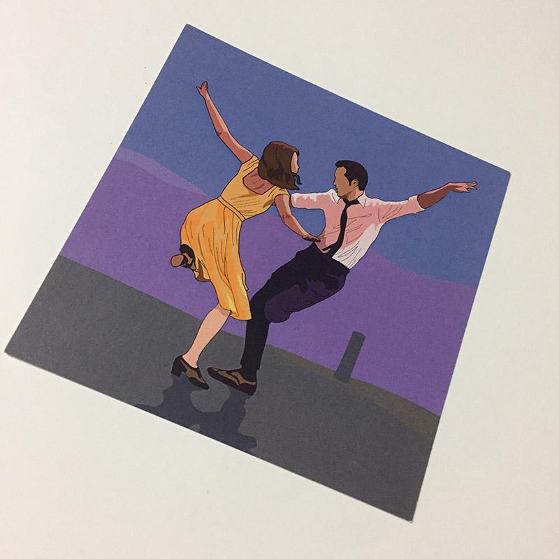 라라랜드엽서 - 옹쟈, 1,500원, 카드, 디자인 카드