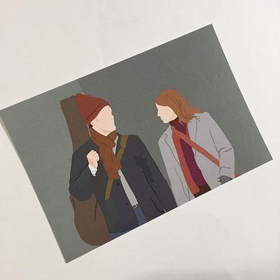 원스 엽서