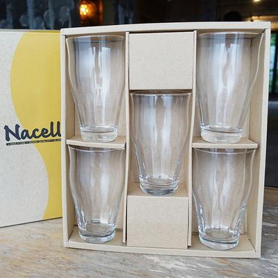 일본 Nacelle 내열강화유리 글라스 5p 세트 유리컵