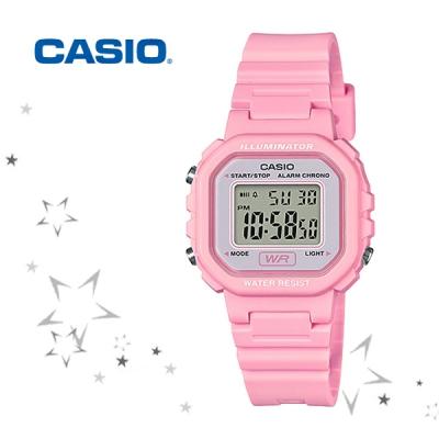카시오 LA-20WH-4A1 우레탄 여성 디지털 손목시계