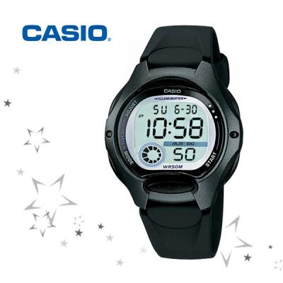 카시오 LW-200-1B 우레탄 여성 패션 디지털 손목시계