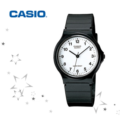 카시오 MQ-24-7B 남여공용 학생 우레탄밴드 손목시계
