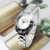 NY2870 여성 팔찌형 메탈 쿼츠 시계