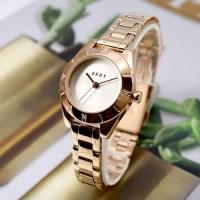 NY2871 여성 팔찌형 메탈 쿼츠 시계