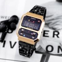 팩맨 콜라보 에디션 빈티지 시계 A100WEPC-1B