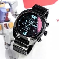 DZ4316 오버플로우 크로노 블랙 메탈 시계