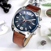 DZ4400 오버플로우 크로노 청판 가죽 시계