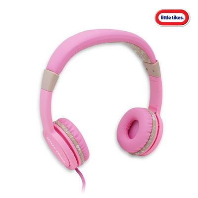 리틀타익스 키즈헤드폰(핑크)_청력보호 어린이전용