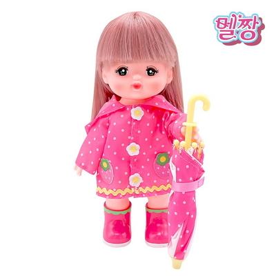멜짱 딸기 우비 세트_한국 총판 공식 업체 어린이날선물강추 여자아이선물 일본대박상품