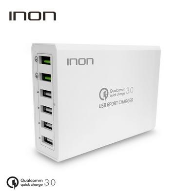 아이논 퀵차지3.0 6PORT USB 고속 멀티충전기 IN-UC620