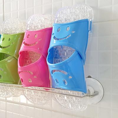 글라스터 스텐 슬리퍼걸이 욕실화 꽂이 거치대 신발정리대