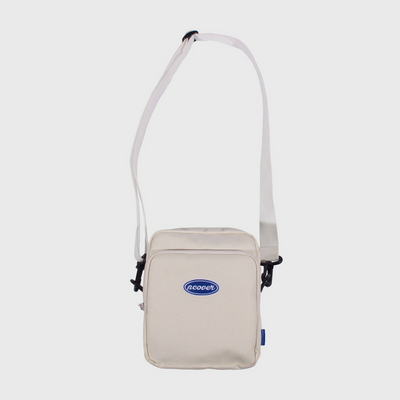 Traveler cross bag-ivory