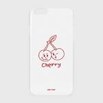 (하드-터프-슬라이드)-Twin cherries-white