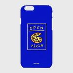(하드-터프-슬라이드)-Delicious pizza-blue