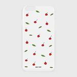 (하드-터프-슬라이드)-Leaf cherries-white