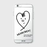 (젤리케이스)Heart beat-black