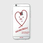 (젤리케이스)Heart beat-red