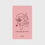 (보조배터리)-Cupid-light pink