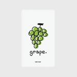 (보조배터리)-Grape-green
