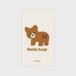 (보조배터리)-Baby Welsh corgl-Ivory