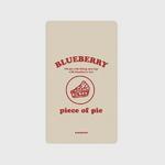 (보조배터리)-piece of pie-beige