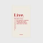 (보조배터리)-Live-Ivory