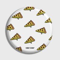 (손거울) Cheese pizza-white