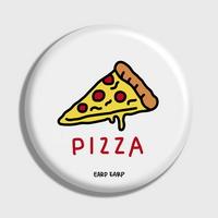 (손거울) Pizza-white