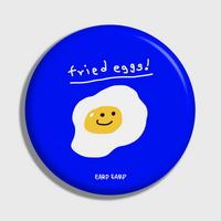 (손거울) Fried eggs-blue