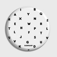 (손거울) Alphabet-white