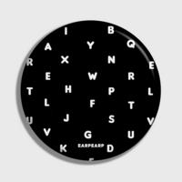 (손거울) Alphabet-black