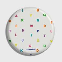 (손거울) Alphabet-Ivory