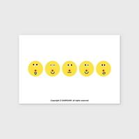 (엽서) Six face