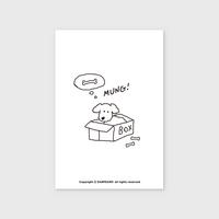 (엽서) Dog box