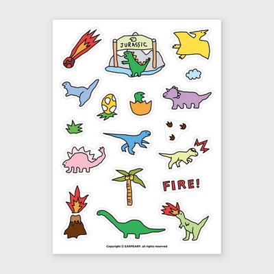(스티커) Dinosaur world sticker