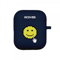 Smile cursor-navy(airpod case)