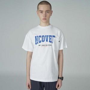 Big logo pocket tshirt-white
