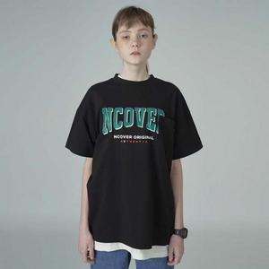Big logo pocket tshirt-black