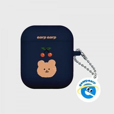 Cherry bear-navy(Air Pods)