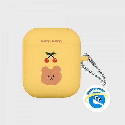 Cherry bear-yellow(Air Pods)