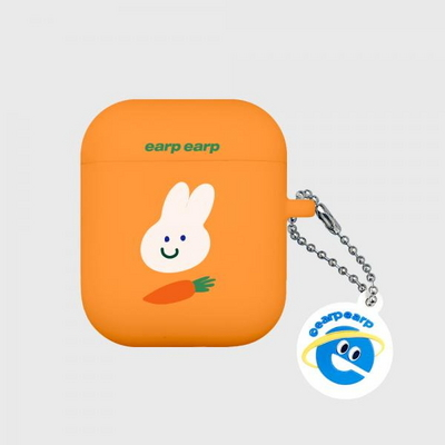 Rabbit carrot-orange(Air Pods)