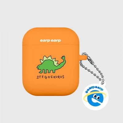 Stegosaurus-orange(Air Pods)