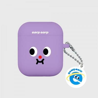 Cute expression-purple(Air Pods)