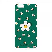 Small flower dot case-green