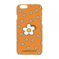 Small flower dot case-orange
