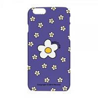 Small flower dot case-purple