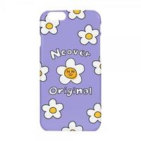 Smile flower case-lilac
