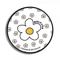 Flower dot-white(smart tok)