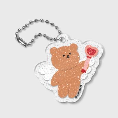 Dot angel bear(글리터키링)